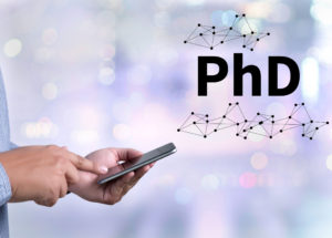 PhD doctor of philosophy