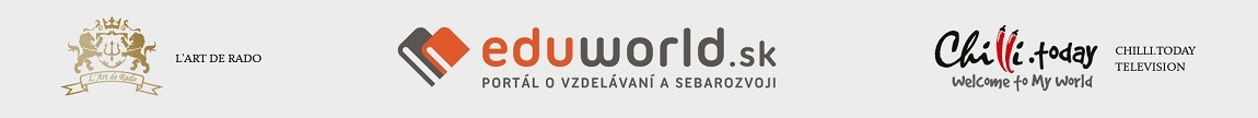 Logo partneri - Art de Rado - EDUWORLD - CHILLI Today